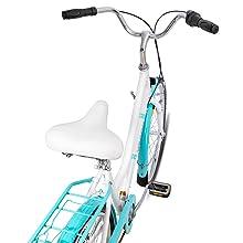 spring-loaded saddle