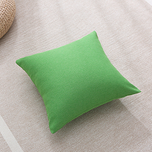 green throw pillow cover