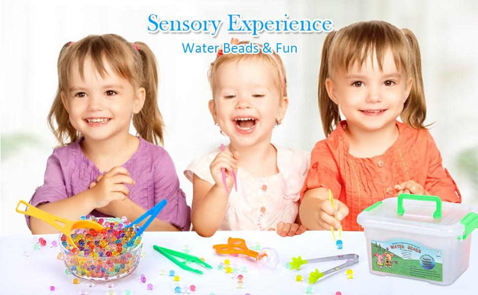 water beads  Non-Toxic Sensory Toy for Kids  jelly beads for Kids Tactile Sensory Toys