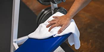 sport workout towel sweat exercise