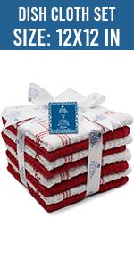 Dan River Dish Cloth towel set