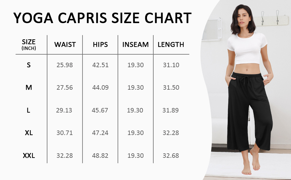 T622 Size Chart