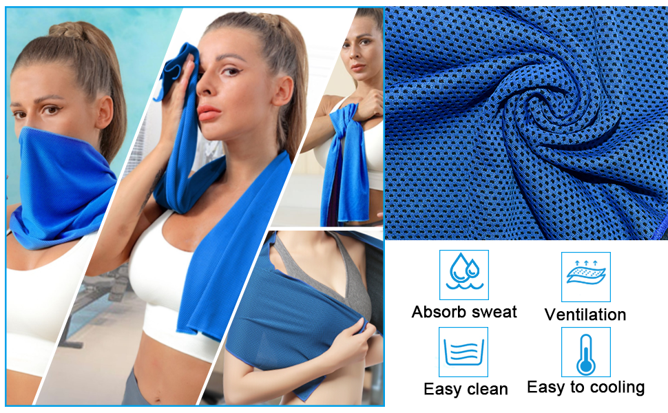 Golf Towel Golf Bag Golf Brush Cleaner, Cooling Towel Foldable Golf Divot Golf Tees Golf Accsseories