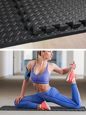beschermende eva vloer matten in elkaar grijpende matten schuim vloertegels mat in elkaar grijpende