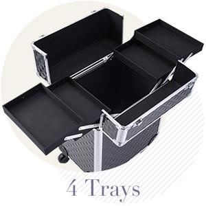4 trays
