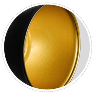 golden inner finish