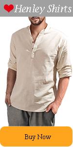 Men's Henley Shirts