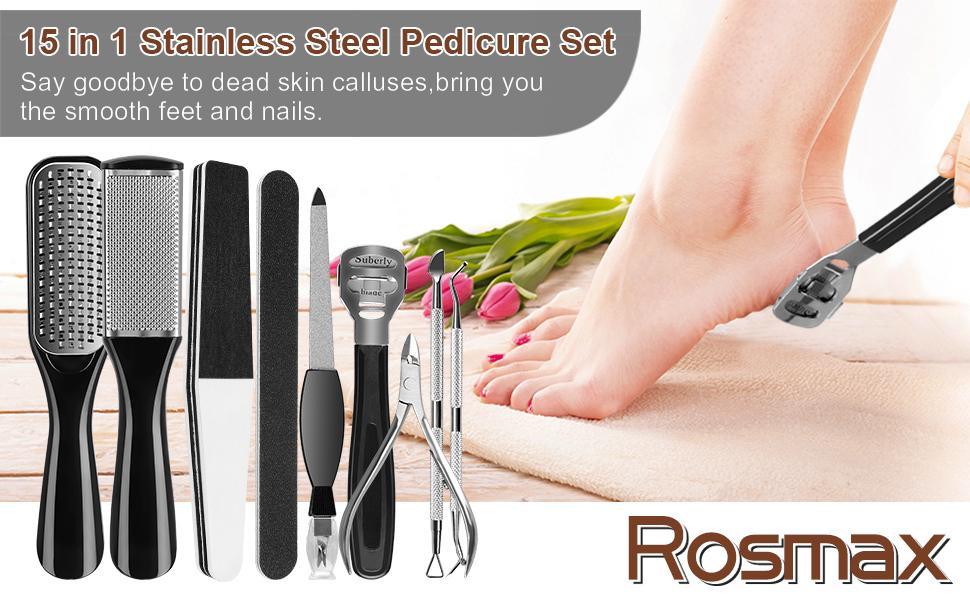 Rosmax Pedicure Kit