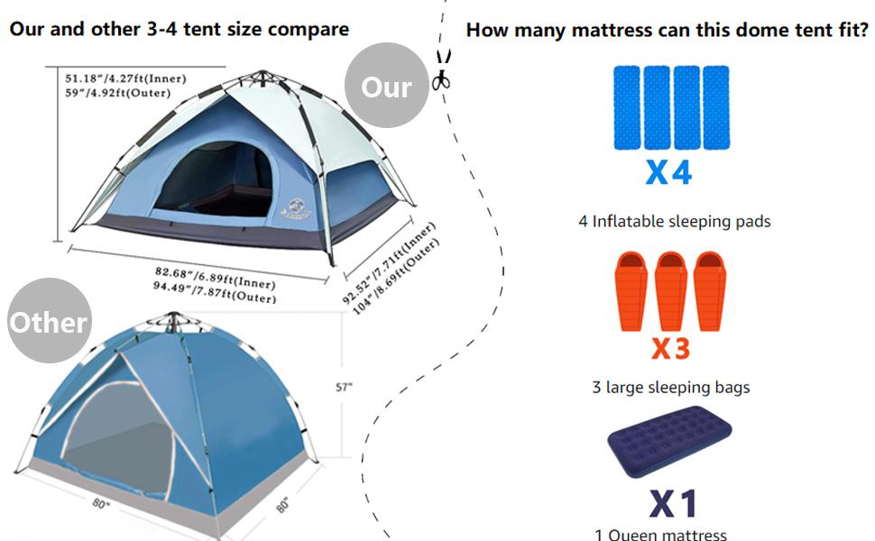 Instant Set-up Tent