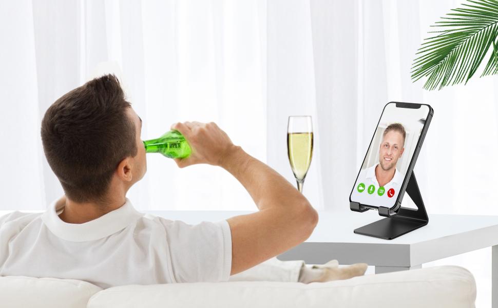 Aluminum Cell Phone Holder