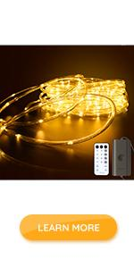 Govee LED Outdoor Rope Lights outdoor string lights