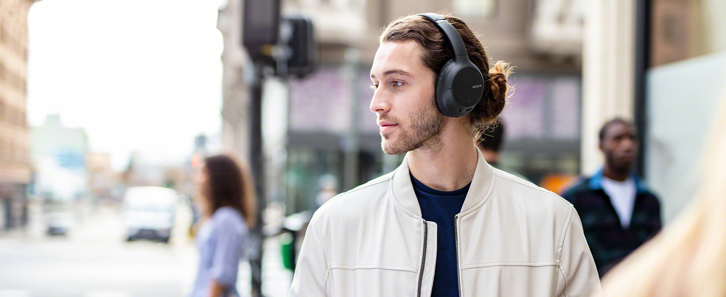 Headphones that cancel out the world