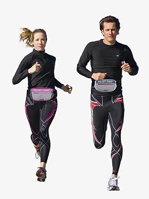 hit color running waist bag