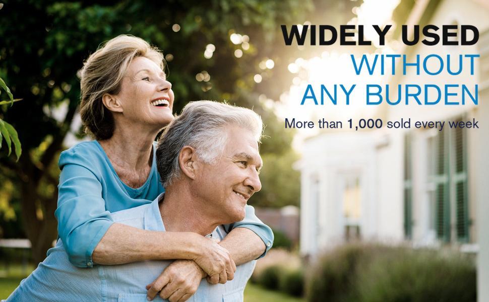 hearing aid senior