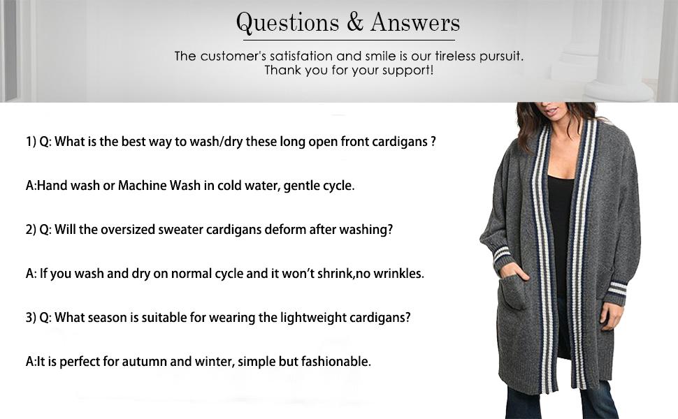 oversized cardigans for women