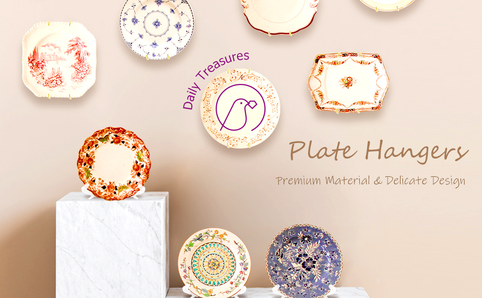 Plate Hangers Wall Plate Hangers Invisible Plate Hangers Wire Plate Hangers Holders