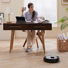 robot vacuum with mapping technology