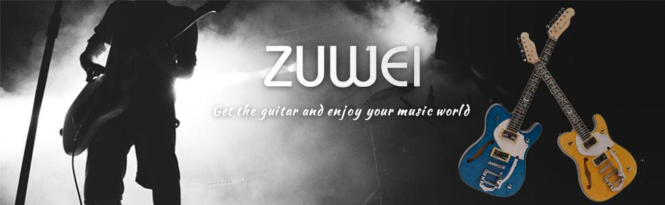 ZUWEI テレキャスタータイプエレキギター