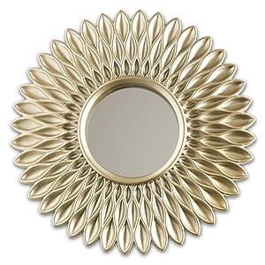 Rund spegel att hänga på väggen. Pack med 3 stycken speglar med öglebult för enkel upphängning