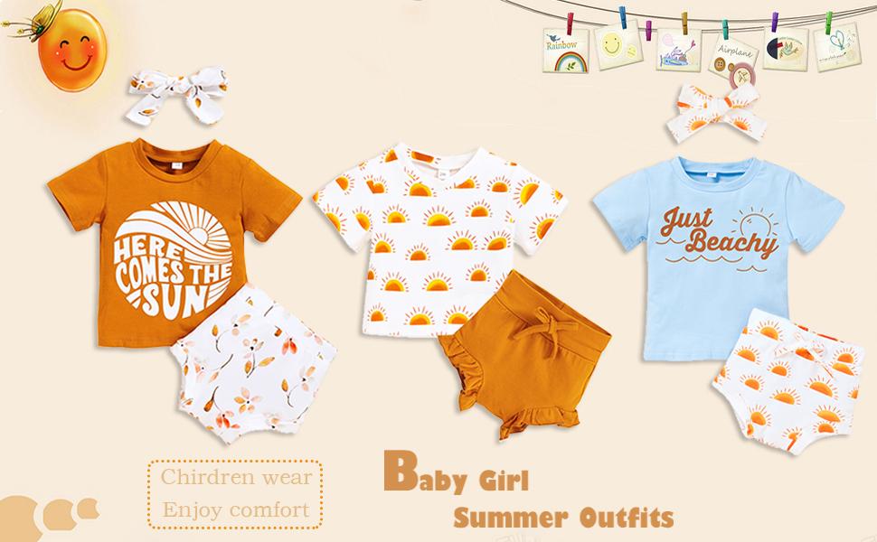 baby girl sunsuit