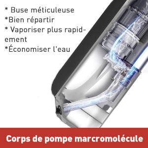 balai vaporisateur
