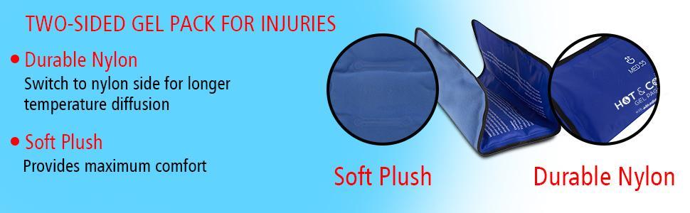 soft plush, durable nylon, injuries