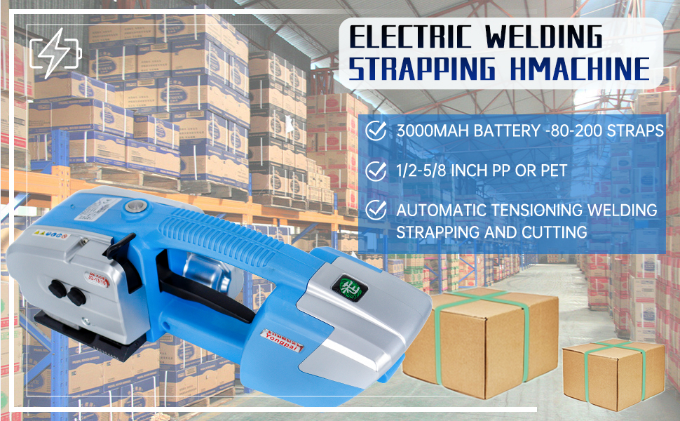 ELECTRIC WELDING STRAPPING MACHINE