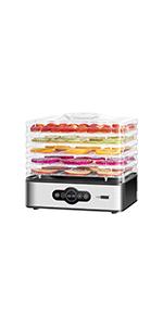 240W 5 Trays Electric Food Dehydrator Machine