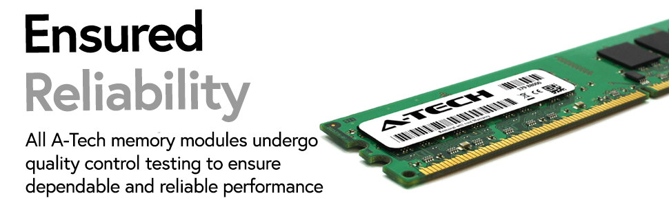 DDR2 DIMM RAM for desktops endure reliability