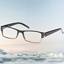 our reading glasses for men and women with flex hinge allows for the utmost comfort for all day wear