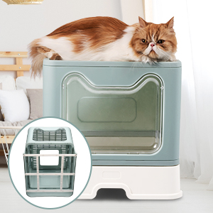 STURDY and SOLID CAT LITTER BOX