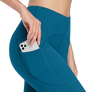 high waist leggings for women with pockets