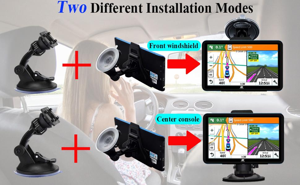 2 installation modes