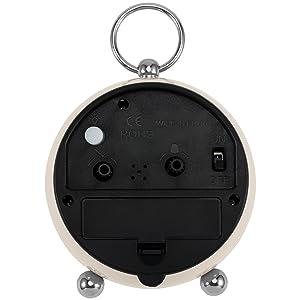 small clocks battery operated