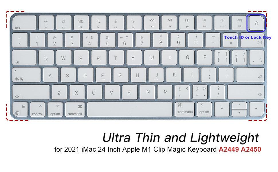 imac 24 magic keyboard cover