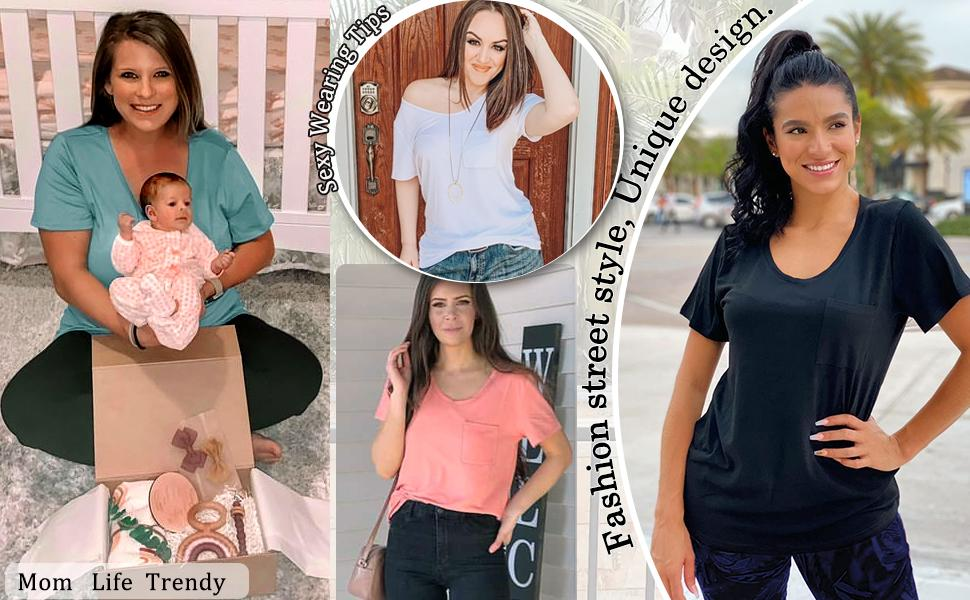Loose Tshirts for Womens
