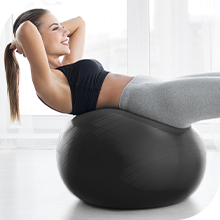 EDX Large Yoga Ball for Fitness, Exercise and Core Training