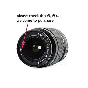 49mm lens hood