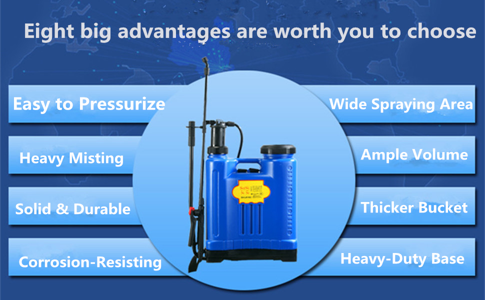 advantages of the sprayer