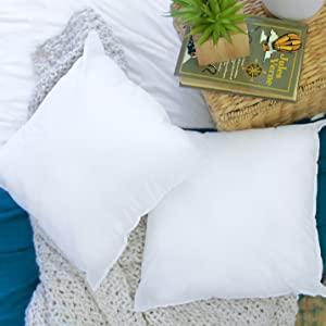 Pillow image on bed