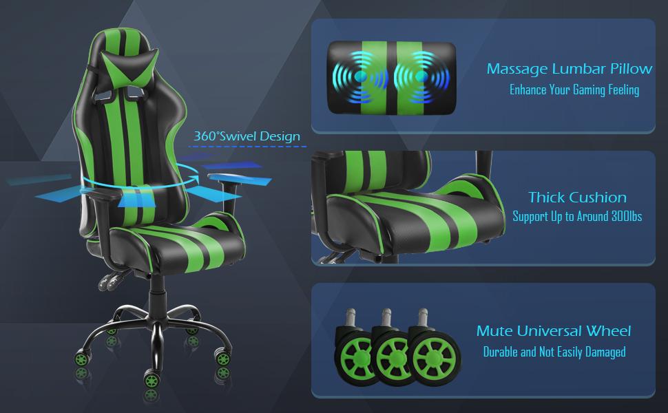 gaming chair gamer chair computer chair ergonomic chair silla gamer video game chair