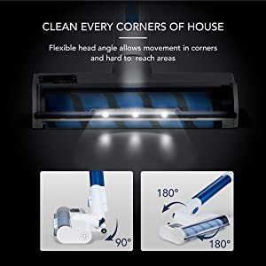 clean  every corners of house