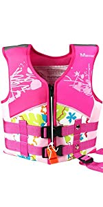 kids swim float vest