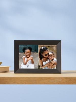 Aura Carver black WiFi digital photo frame