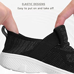Kids Breathable Sneakers Boys Girls Lightweight Kids Shoes Athletic Easy to Walk Run Sport
