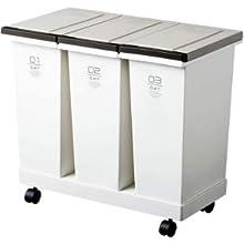 ゴミ箱 ダストボックス キッチン 生ゴミ 分別 簡単 シンプル キャスター付き