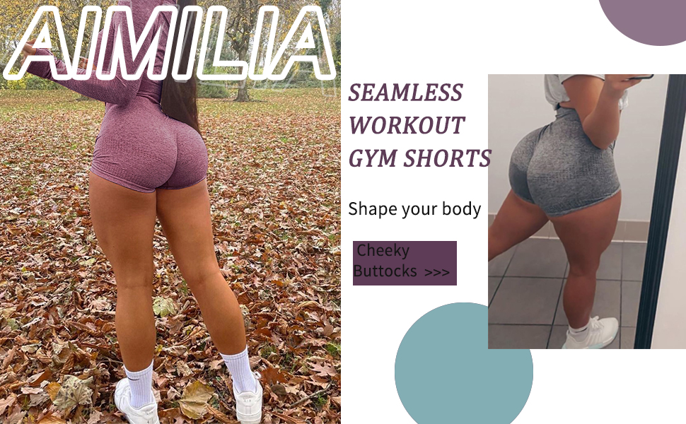 Seamless Scrunch Butt Lifting High Waist Leggings Squat Proof Sport Gym Yoga Hot Pants