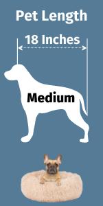 Medium Calming Dog Bed
