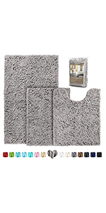 bathroom rugs and mats sets