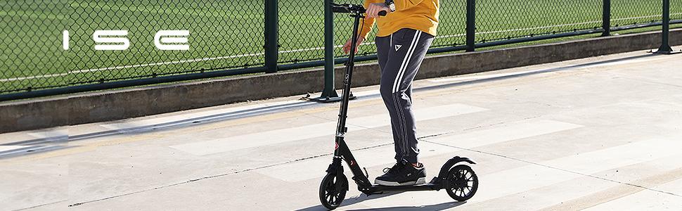 ISE Big Wheel Scooter Tretroller